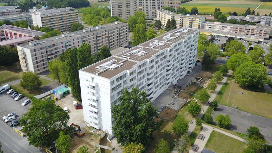 Surélévation et rénovation de 5 immeubles