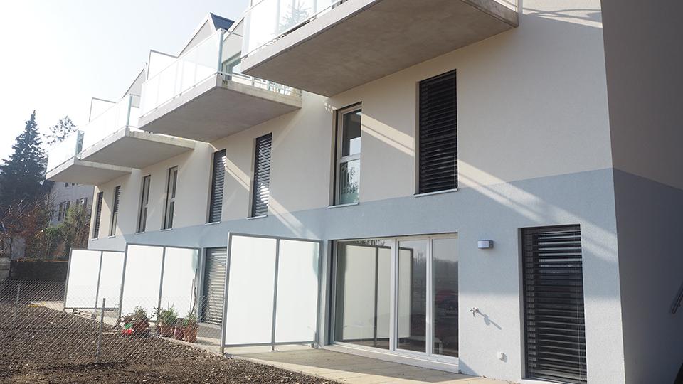 Foyer Au Grand Lancy : Batineg nouvelles villas se dressent au grand lancy
