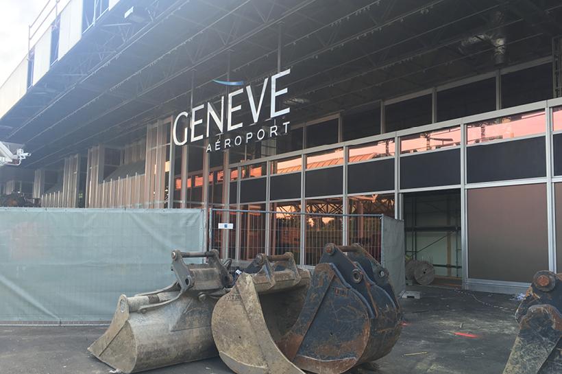 Début des travaux pour le Hall Check-In de Genève Aéroport