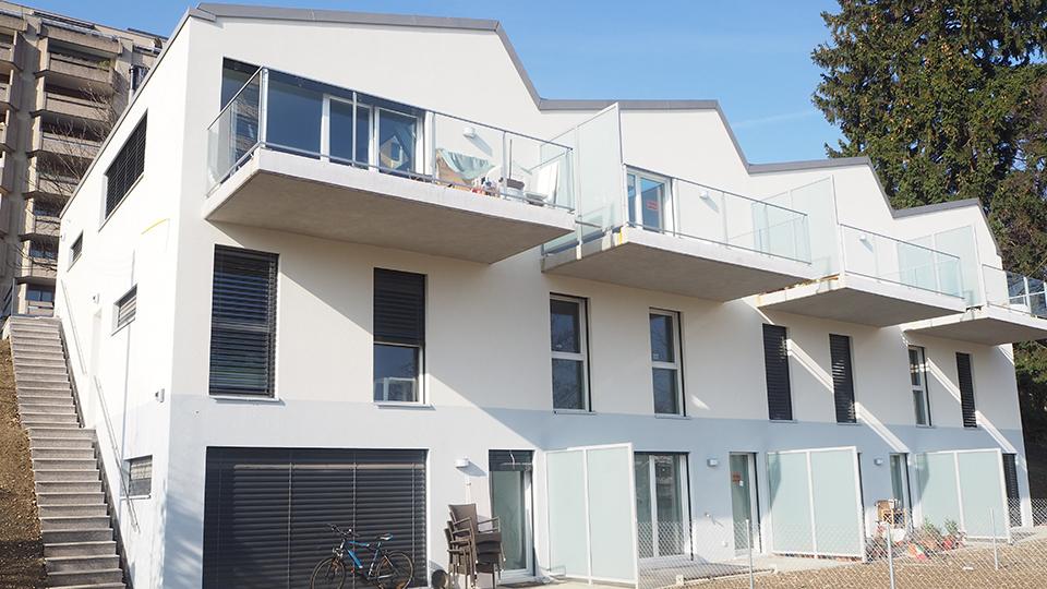 4 nouvelles villas se dressent au Grand-Lancy