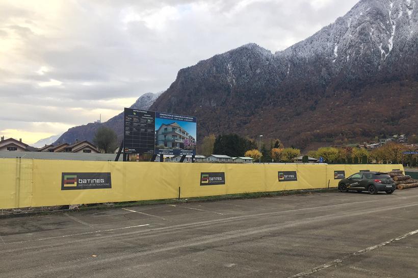 Construction d'une résidence de 3 immeubles d'habitation au Bouveret (VS)