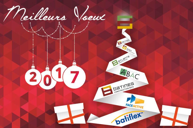 Meilleurs voeux et bonne année 2017 !
