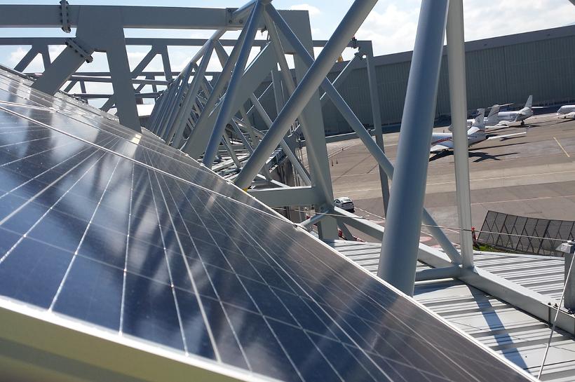 ABAC-Energie achève le défi photovoltaïque de l'amortisseur de bruit