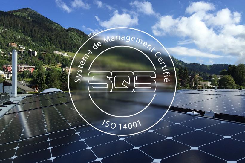 En route vers la certification ISO 14001 !